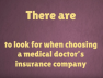 how-to-choose-a-medical-doctorss-insurance-company